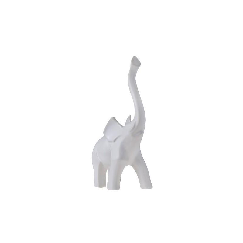 Διακοσμητική φιγούρα ελέφαντας λευκό