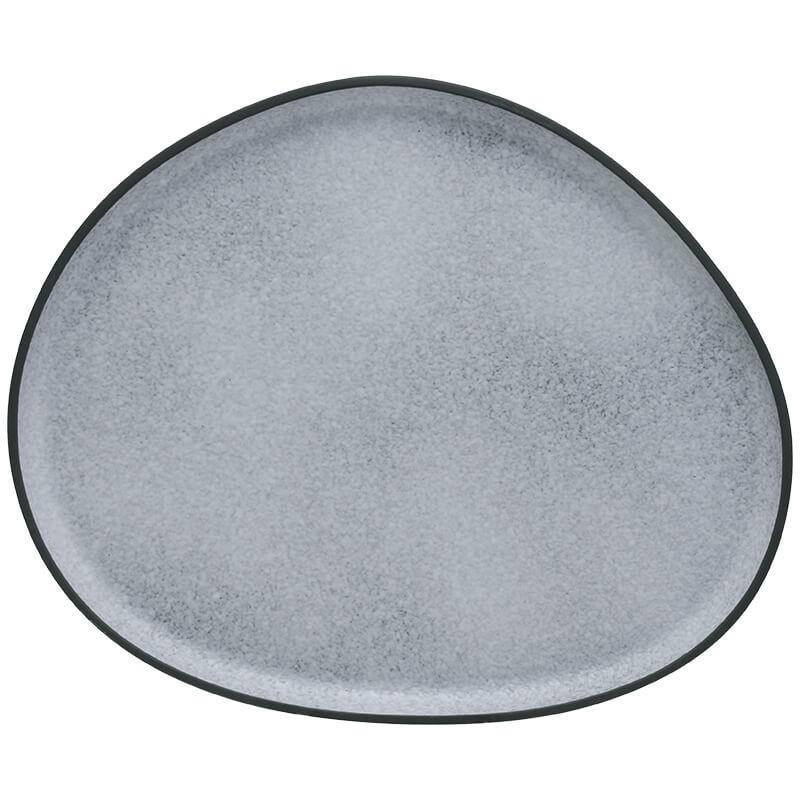 Πιατέλα σερβιρίσματος Granite γκρί