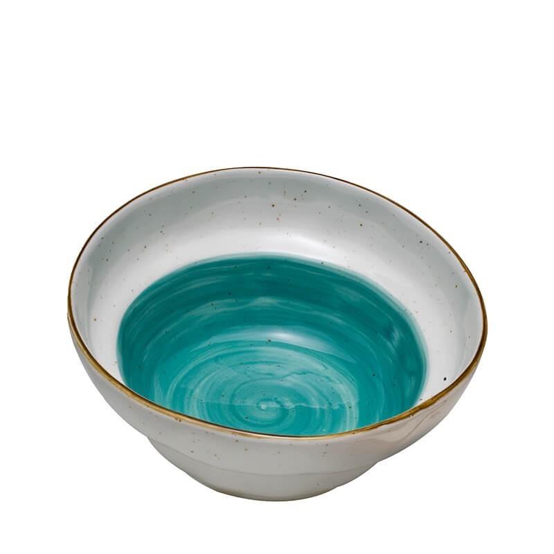 Σαλατιέρα στρογυλή Country Blue