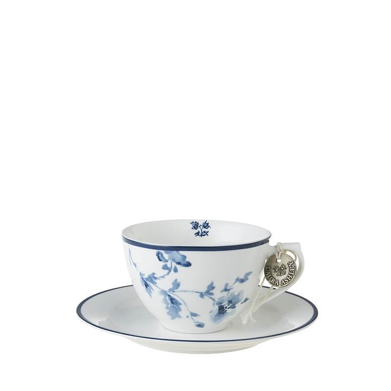 Blueprint Φλυτζάνι cappuccino με πιατάκι china rose