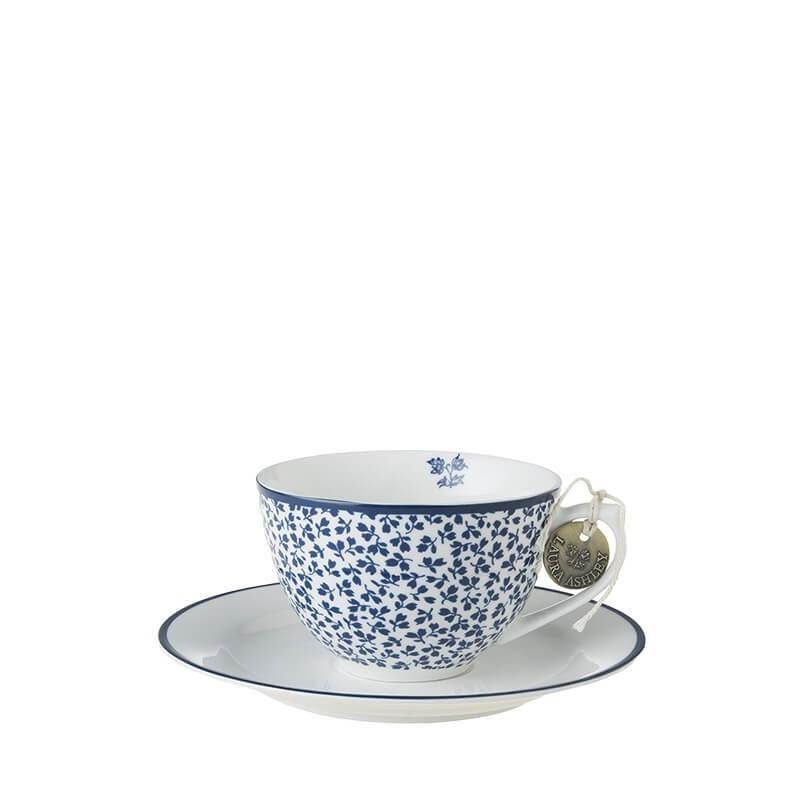 Blueprint Φλυτζάνι cappuccino με πιατάκι floris