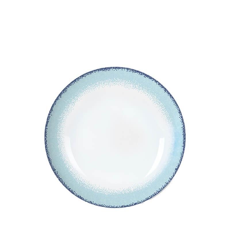 APEIRON BLUE Πιάτο Βαθύ  21.5 Εκ.